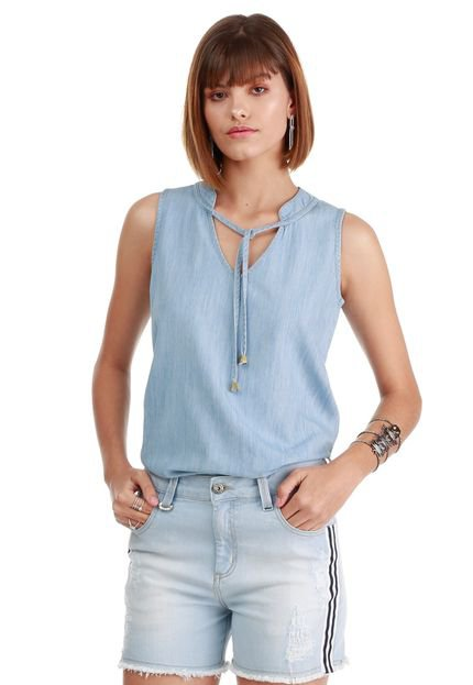 Sideral Blusa Sideral Jeans Destroyed XkocS