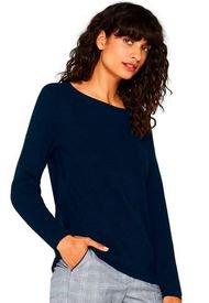 Sweater Casual Azul Esprit