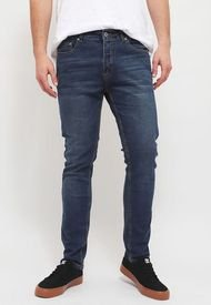 Jeans Rip Curl 6N139 Azul - Calce Skinny