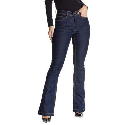 Osmoze Calça Jeans Osmoze Mid Rise Flare Z 23182 1 Un Azul OfsMw