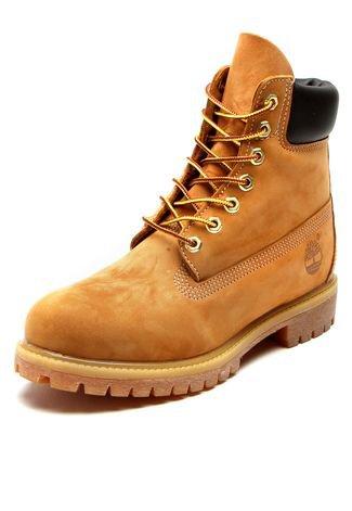 Musgo brecha mermelada  Bota Couro Timberland Yellow Boot 6in Premium Boot WP Caramelo - Compre  Agora   Dafiti Brasil