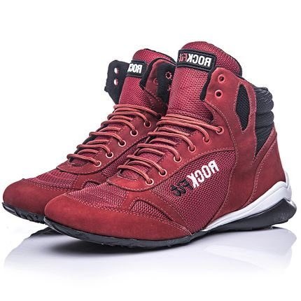 Rock Fit Bota De Treino Rock Fit Press Vermelha 28bRg