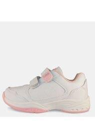 Zapatilla Escolar Blanco White/Pink LAG