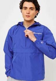 Cortaviento Champion M Packable Jacket Azul. - Calce Regular