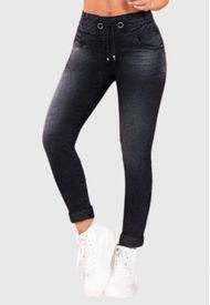 Jeans Colombiano Control Abdomen Grafito Bartolomeo