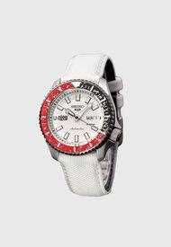 Reloj Análogo Plateado Seiko