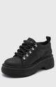 Zapato de Cuero Negro Viamo Basilio