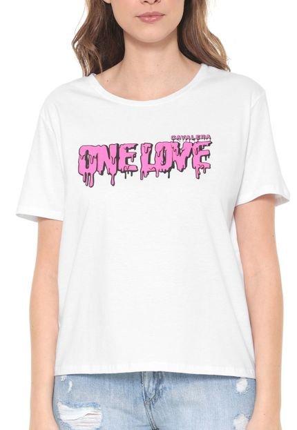 Cavalera Camiseta Cavalera One Love Branca