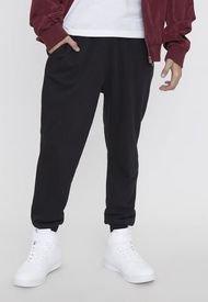 Pantalón De Buzo Jogger Negro - Hombre Corona