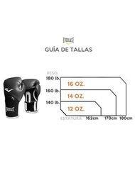 GUANTES DE BOXEO EVERLAS Powerlock2 12 Oz-Blanco