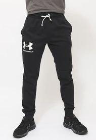 Jogger Under Armour UA RIVAL TERRY Negro - Calce Regular