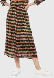 Falda Only Sheri Multicolor - Calce Regular