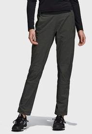 Pantalón adidas outdoor W Lt Flex Pants Gris - Calce Regular