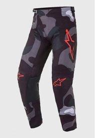 Pantalon Racer Tactical 2021 Camo Rojo Alpinestars