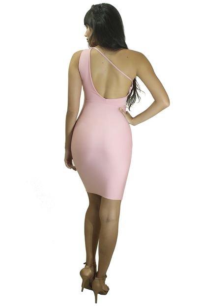 Racy Modas Vestido Racy Modas Curto Tubinho Com Detalhe de Costas Nua j7yqj