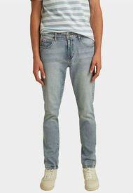 Jeans Go Slim Straight Denim Pant Goc Denim Guess