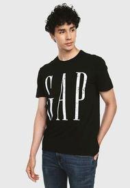 Camiseta Negro-Blanco GAP