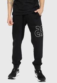 Jogger Asics FT PANT Negro - Calce Regular
