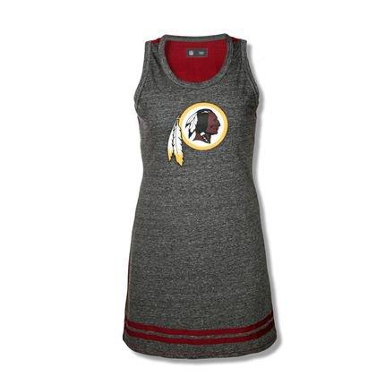 New Era Vestido New Era Basico Washington Redskins Vermelho Esc/Mescla Negro 0mcDm