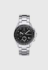 Reloj Análogo Plateado Fossil