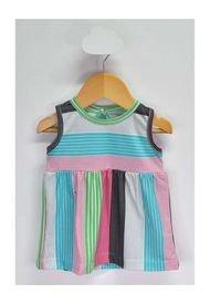Vestido Turquesa Simpa Kids
