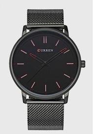 Reloj Análogo Negro Curren