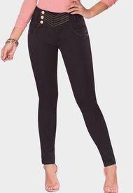 Jeans Levanta Cola Mikonos Negro TYT Jeans