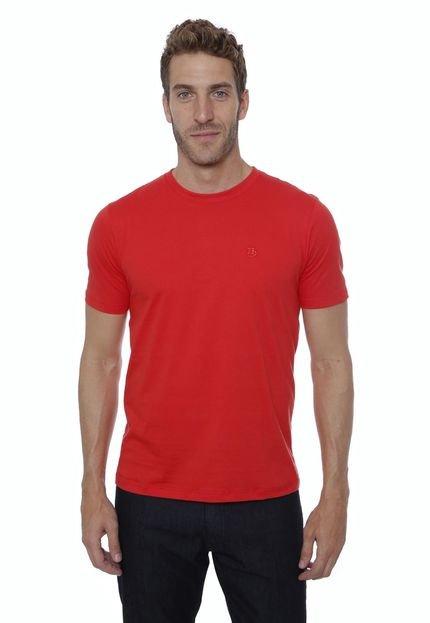 Camiseta Hugo Deleon Basica Vermelha