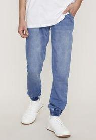 Jeans Jogger Azul Claro- Hombre Corona I  Corona
