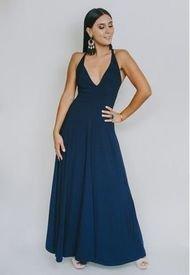 Vestido Zara Azul Francia Natalia Seguel
