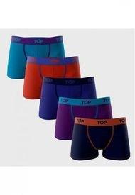 Pack 5 Boxer Medios Multicolor TOP