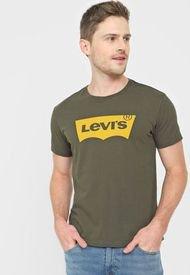 Camiseta Verde-Amarillo Levi's