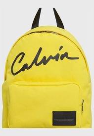 Mochila Amarillo Calvin Klein