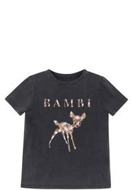Polera MC Bambi Gris Disney