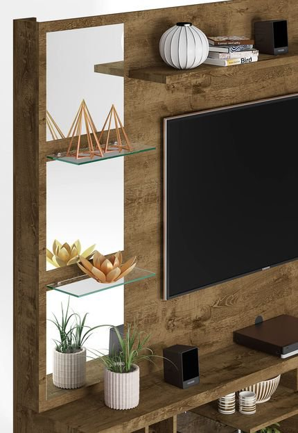 Painel Para Tv No Ático By Jack Móbiles: Home Tucson Madeira Rustica Móveis Bechara