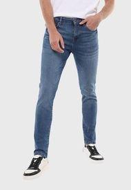 Jeans Hombre Slim Celeste Soviet