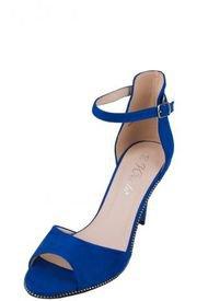 Sandalia Fiesta Mujer Nicoletta Azul Weide