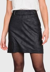 Falda iO Negro - Calce Ajustado