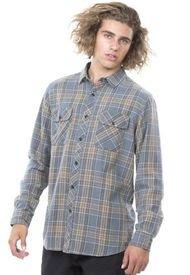 Camisa Hombre Gris Rip Curl