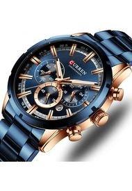 Reloj Curren MT05 Cronógrafo - Azul