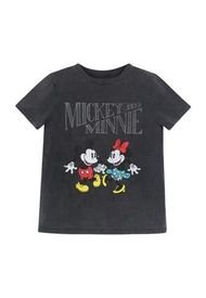 Polera MC Mickey And Minnie Gris Disney