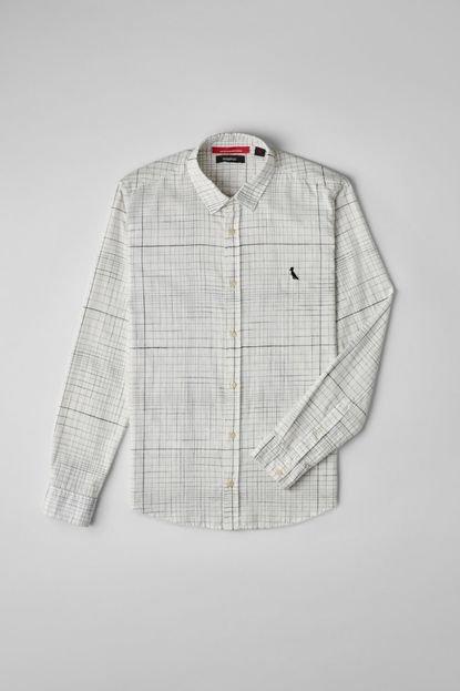Reserva Camisa Grid Maxi Reserva Branco