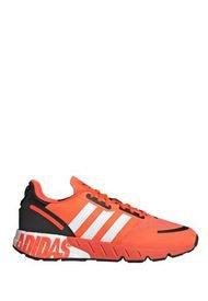 Zapatillas Naranja Adidas Zx 1k Boost