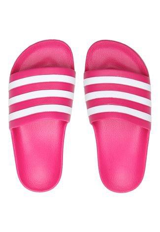 Aplaudir dañar detección  Chinelo Slide adidas Performance Adilette Aqua U Rosa - Compre Agora |  Dafiti Brasil