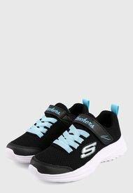Tenis Lifestyle Negro-Azul Skechers Kids Dreamy Dancer