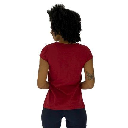 Alto Conceito Camisa Babylook Alto Conceito No Pain No Gain Kg Vermelho anjrc