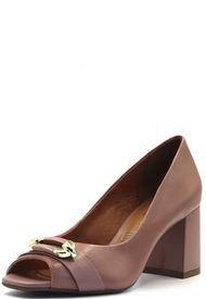 Zapato Cuero Rosa Caprice