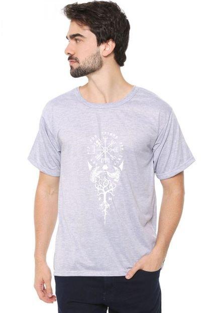 Camiseta Eco Canyon Viking Cinza