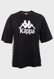 Polera Kappa Negro - Calce Regular