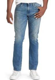 Jeans Varick Slim Straight Azul Polo Ralph Lauren